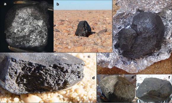 informacion sobre los meteoritos